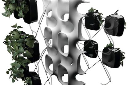 Green Wall Systems: Active Phytoremediation Wall System