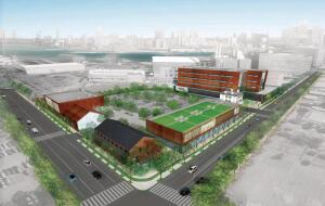 The Brooklyn Navy Yard in New York is a national model for industrial developments that are being renovated to create jobs for city residents and improve the existing facilities' efficiency. The 300-acre industrial cluster includes 45 buildings dating back as far as the Civil War era.