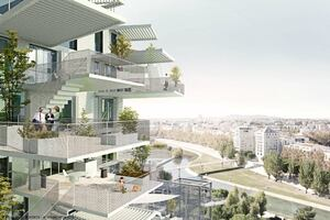 "Lux Leaves: Ambitious French Building Lets Residents ""Create"" Floorplans"