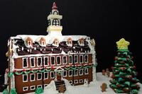 Architecturally Inspired Gingerbread Houses
