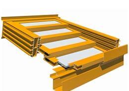 T5000 5-PANEL 4 Retractable Roof Skylight