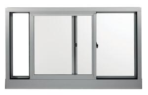 "Kawneer's new AA 3350 IsoPort Horizontal Sliding Window is available in single-hung, double-hung, horizontal sliding, or fixed formats. The performance of the window is enhanced by the shape of a polyamide thermal break, which maintains continuity throughout the frame and sash. Available with 1"" insulating or laminated glass, and with an anodized, painted, or dual-color finish. ¥ kawneer.com"