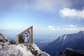 Alpine Shelter Skuta by OFIS Architects