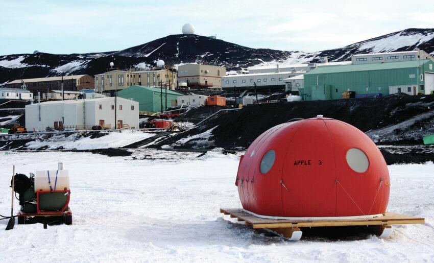 McMurdo Station is a National Science Foundation hub for astronomers, glaciologists, and oceanographers studying the region's polar ecosystem. Much of the research in recent years has focused on climate change.