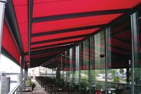 Solar Awning System Is Motorized