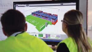 Designing with BIM is quickly becoming the standard. When choosing software, make sure it work with BIM software.