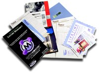 Out of sight, out of mind. But not if you leave behind a packet of marketing materials.