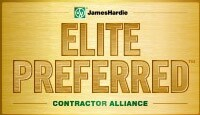James Hardie, contractor alliance program, elite preferred, james hardie preferred remodeler, james hardie contractor, elite preferred siding contractor