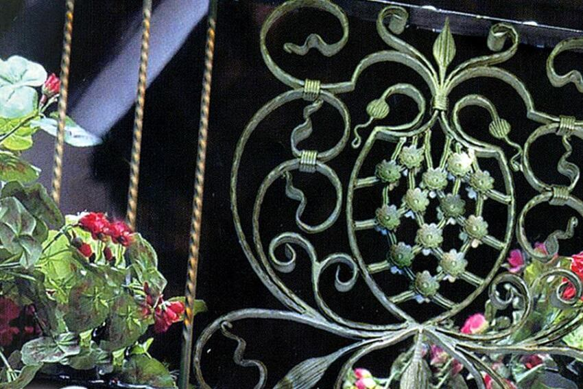 Wrought-Iron Panels from Outwater