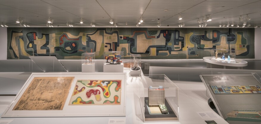 Installation view of Roberto Burle Marx: Brazilian Modernist, May 6 – September 18, 2016.