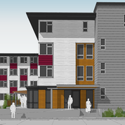 Devoe II Housing will feature 50 units of suppportive housing for veterans and homeless individuals in Olympia, Wash.
