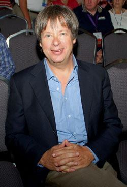 Dave Barry brought humor to the APWA Show.