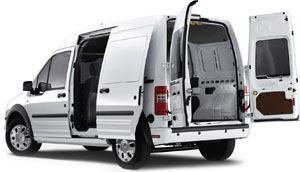 Operating economy and maneuverability are key attributes of the Ford Transit Connect. Most up-fitters and accessory manufacturers make bulkheads, racks, trays, dividers, and compartments for the vehicle to maximize utilization. Photo: Ford Motor Co.