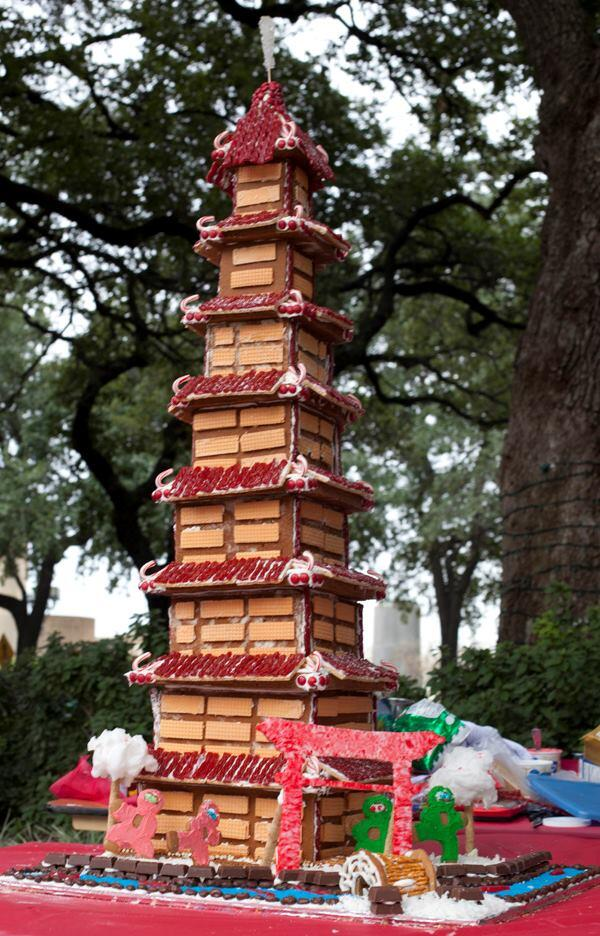 "PBK's ""Kung Fu Candy Crushers (50"")"" won Tallest Standing Structure."