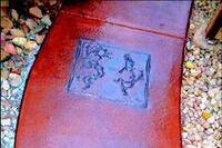 Art Stamped Concrete