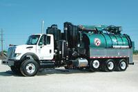 Full-size hydro excavator