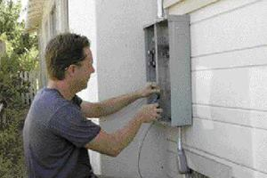 Replacing an Electrical Service