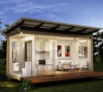 Solar Shipping Containers Morph Into Homes
