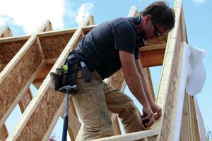 Framing a Two-Pitch I-Joist Roof