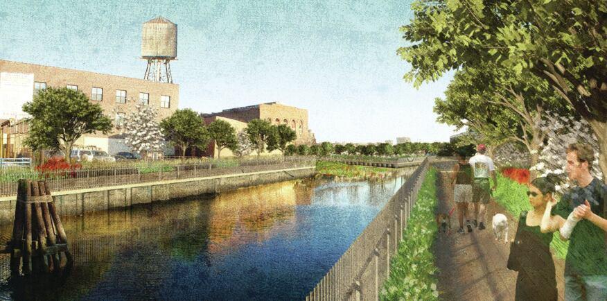 Gowanus Canal Sponge Park