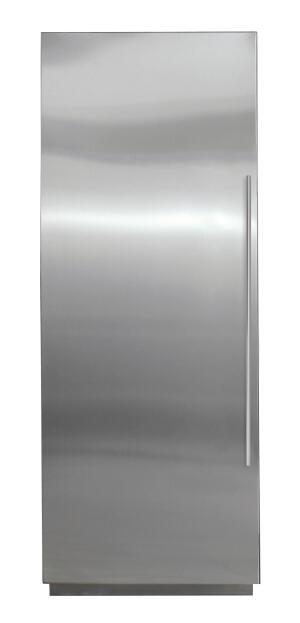 This 27-inch freezer column from Sub-Zero brings more design versatility to the kitchen. Available in all-refrigerator and all-freezer models, the Energy Star-rated unit features digital controls, low-profile hinges, heavily insulated doors, and magnetic door seals that help prevent air leaks. Antimicrobial air purification and microbiological water filtration systems reduce bacteria and other impurities. Sub-Zero, 800.222.7820; www.subzero.com