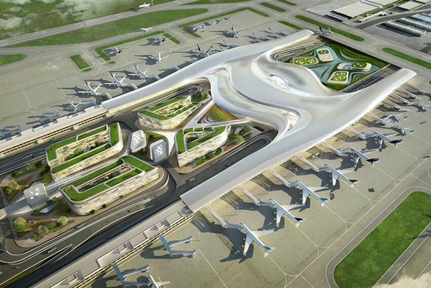 Taiwan Taoyuan International Airport Terminal 3 Proposal