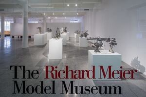 Richard Meier Model Museum, Now Open in Jersey City