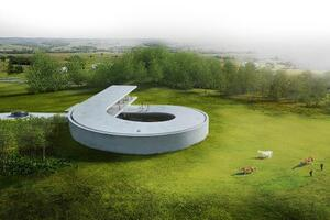 Bjarke Ingels Group Reveals a Danish Villa Designed for a Car Collector
