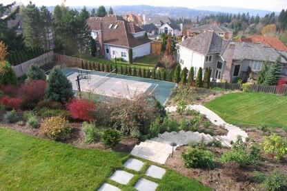 Bellevue Sport Court and Landscape Design