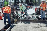 Cement Product Offers Benefits Over Asphalt
