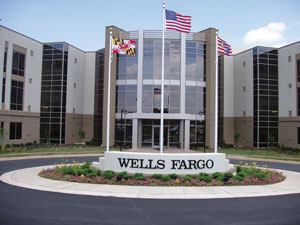 After 19 months, the Wells Fargo Home Mortgage office complex was completed.