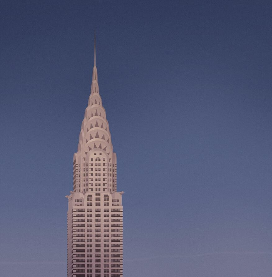 Chrysler Building by William Van Alen, completed in 1930.