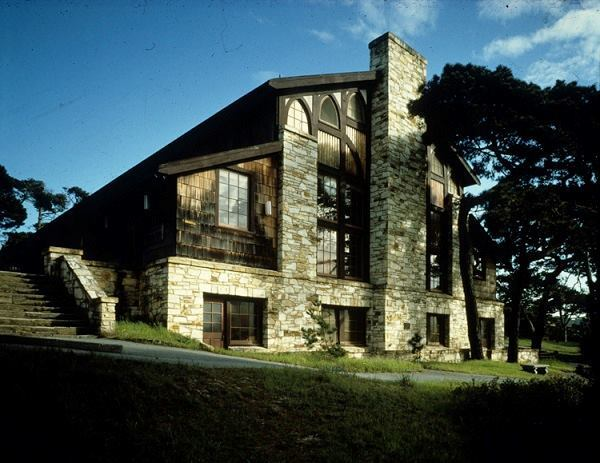 YWCA Asilomar, Merrill Hall, exterior.