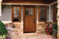 Reclaimed-Wood Windows and Doors