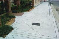 Sidewalks Exhibit Simple Beauty