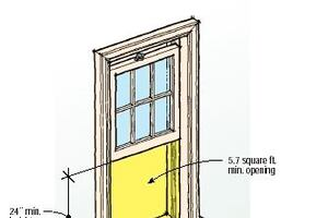 Q&A: Upstairs Window Egress Rules