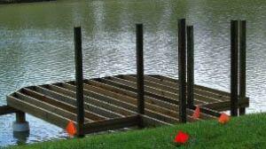 Building A Stationary Dock Professional Deck Builder