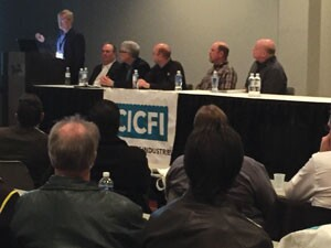 The ICF Summit at World of Concrete 2016.