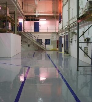 UVolve Instant Floor Coatings    DSM  www.uvolvecoatings.com  High-performance, high-gloss coating systems for concrete floors - Cures instantly, allowing for heavy traffic immediately after application - Available in both clear and pigmented systems - Zero VOCs with no solvents - Protects against dirt, wear, and chemicals, and is skid and tire mark resistant - Easy to clean