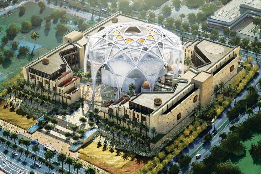 U.A.E. Federal National Council New Parliament Building Complex