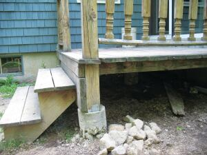 Better Deck Piers Professional Deck Builder Foundation