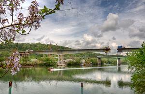 Kanawha River Bridge Main Span Complete