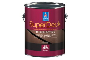 Sherwin-Williams, deck stain, SuperDeck