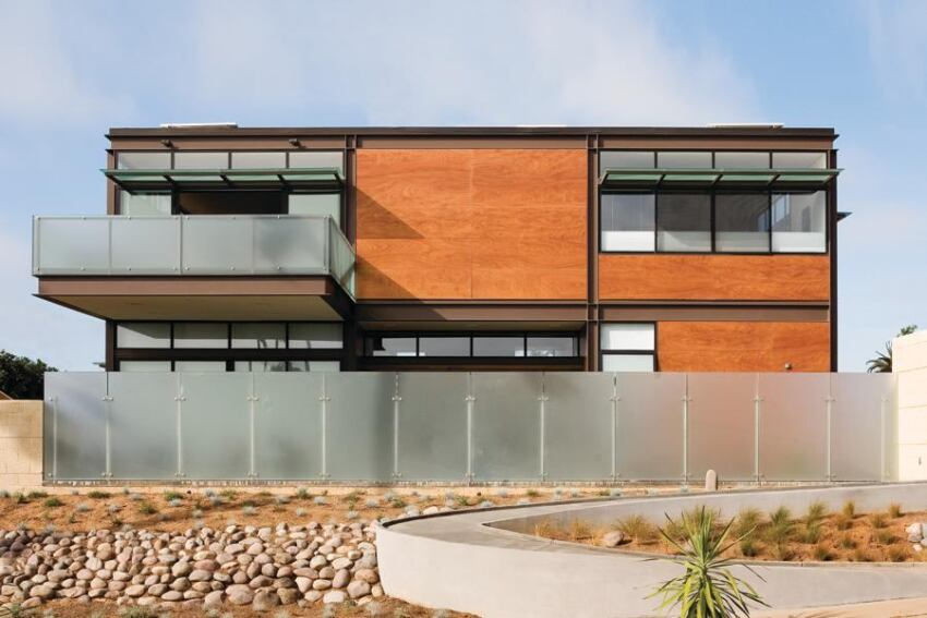 Sustainable Steel Home, San Diego