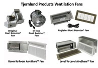 DUCT BOOSTER® FANS  INCREASE COMFORT