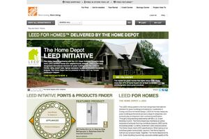 The Home Depot Launches LEED Website