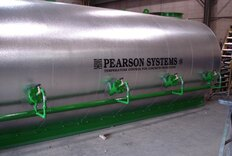 Hot water heaters for ready mix