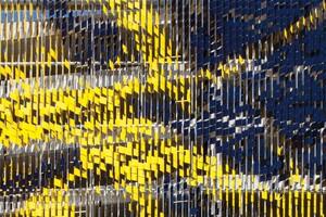 Detail: May–September Installation at Eskenazi Hospital Parking Garage