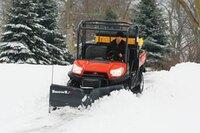 SnowEx versatile UTV-V-Plow