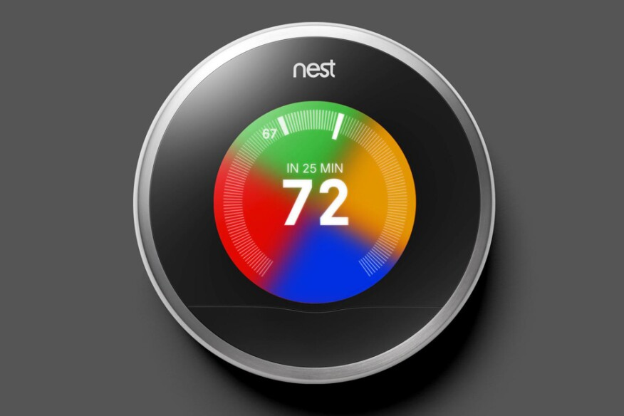 """Nest, from Google, has begun to create an iconic trust-mark around """"comfort."""""""